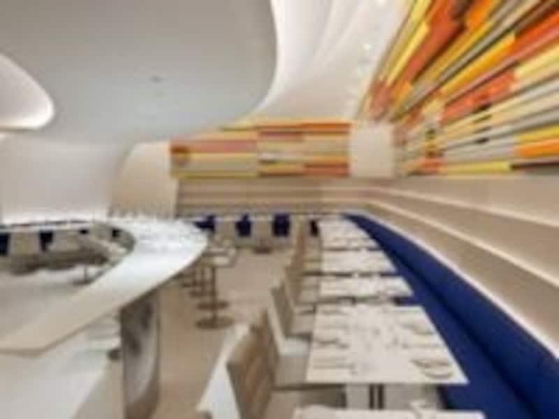 ミュージアムレストランらしい内装