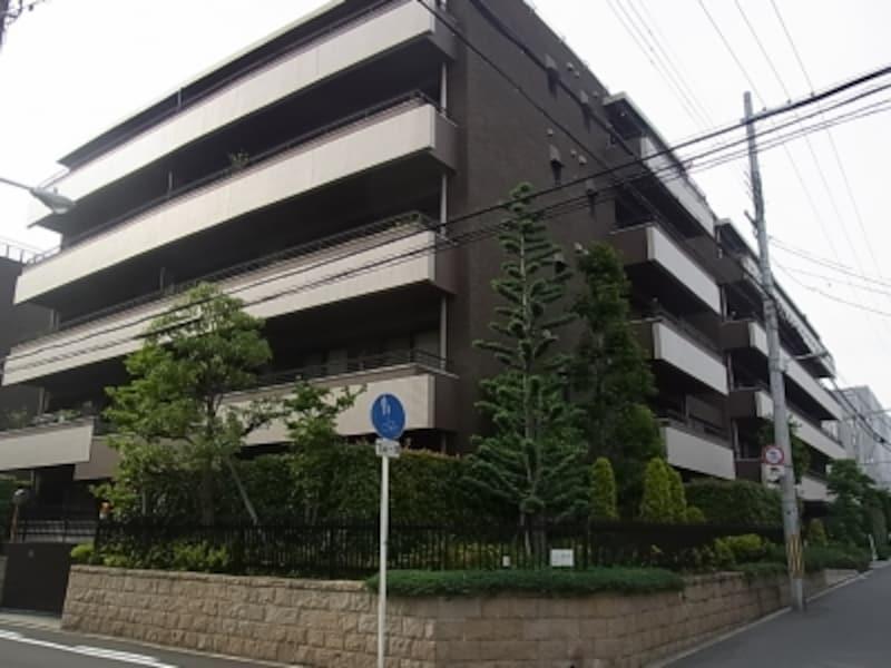 マンション、帝塚山