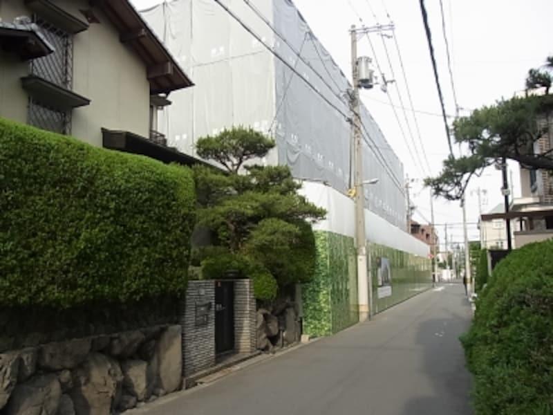 マンション、戸建て、帝塚山