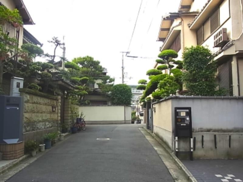 帝塚山、戸建て