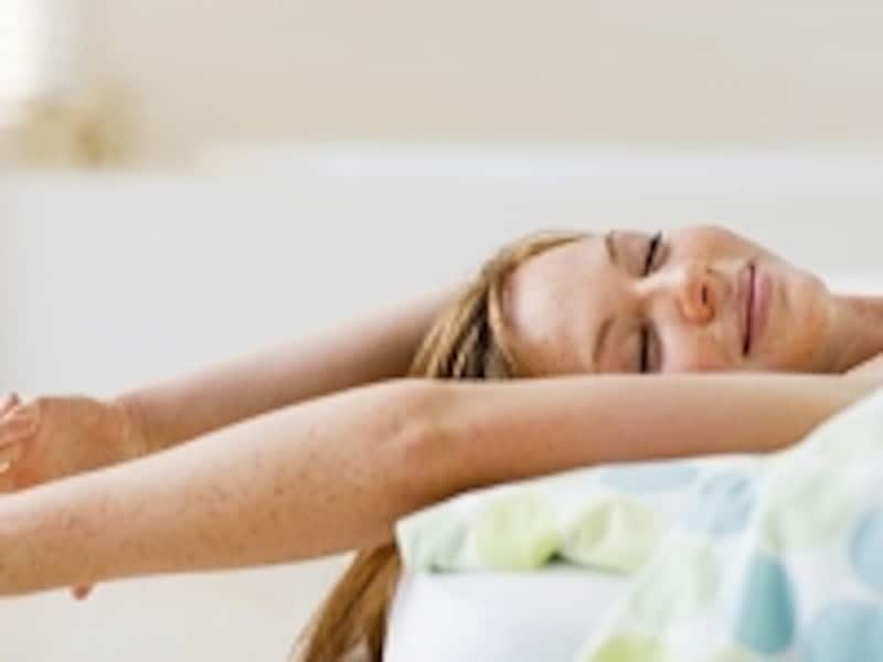 寝る前の簡単ストレッチで、痩せ体質に大変身しませんか?