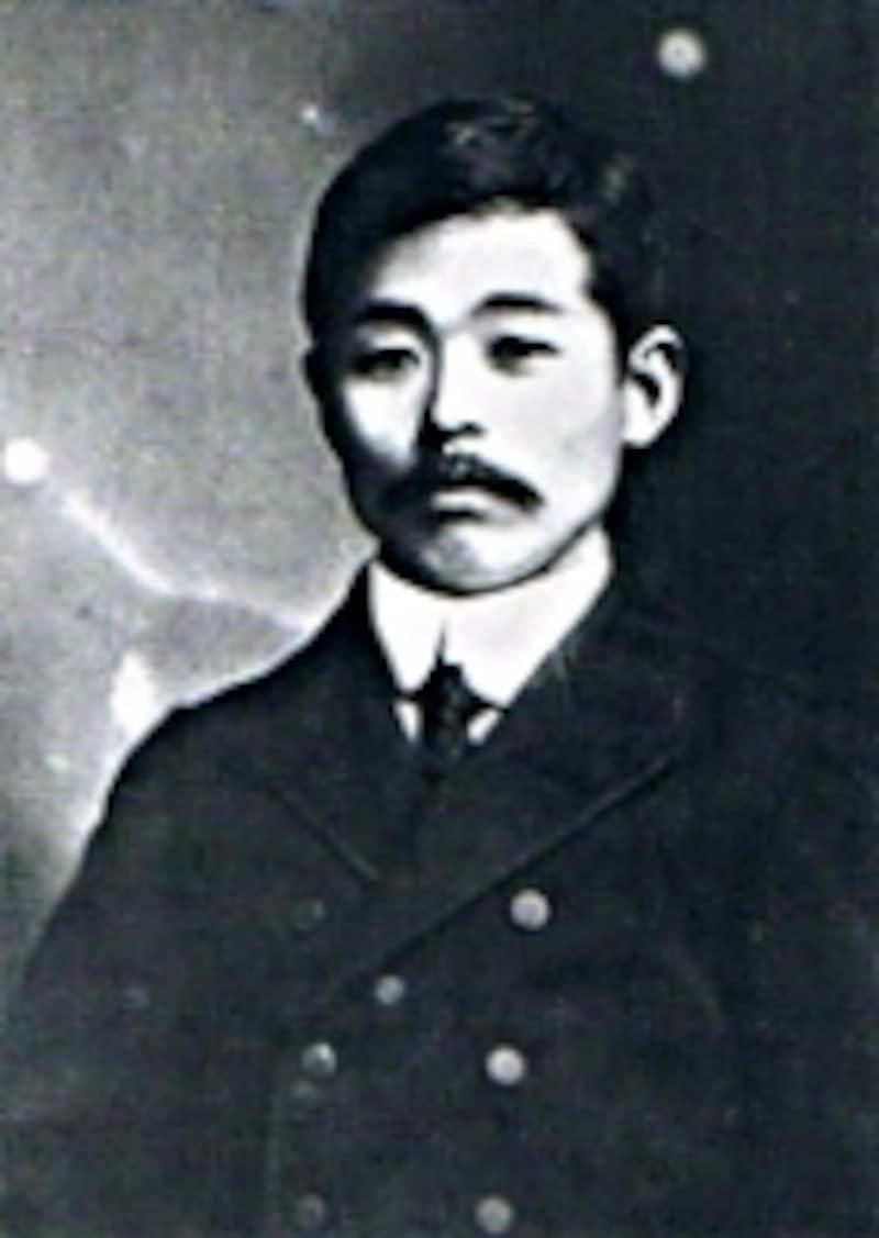 ゼブラの創業者、石川徳松。