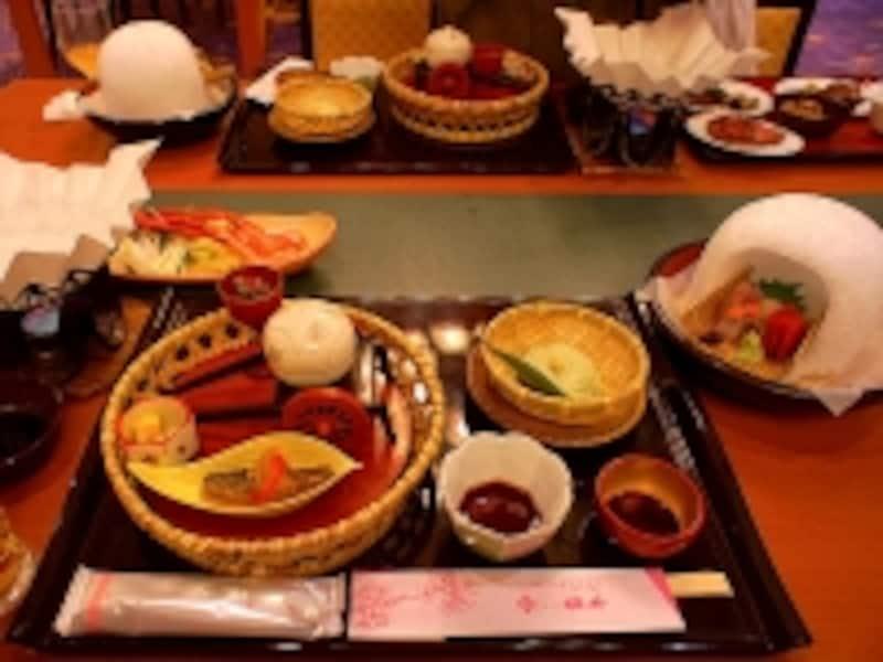 ホテル櫻井夕食