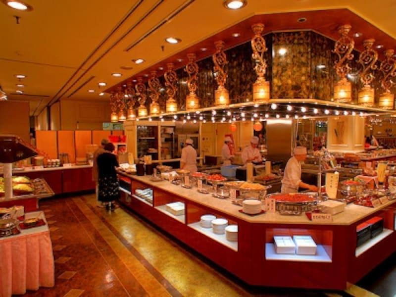 ホテル櫻井の夕食バイキング