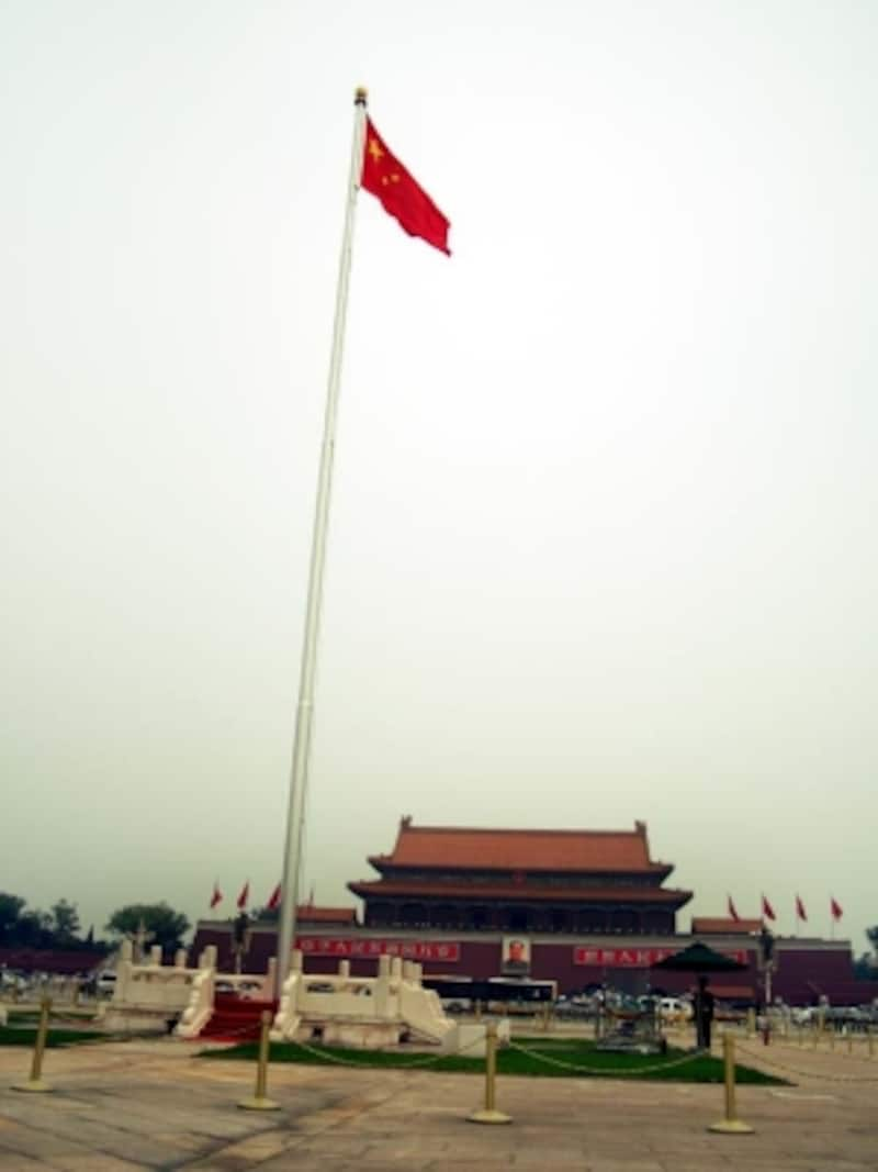 天安門国旗