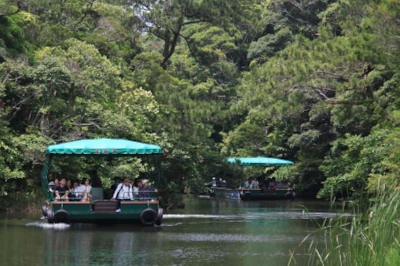 湖水観賞舟