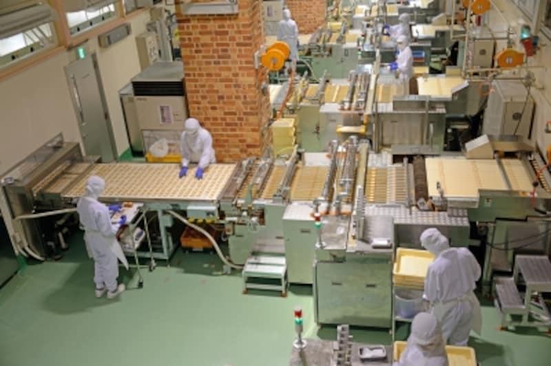 「白い恋人」の工場見学も人気!