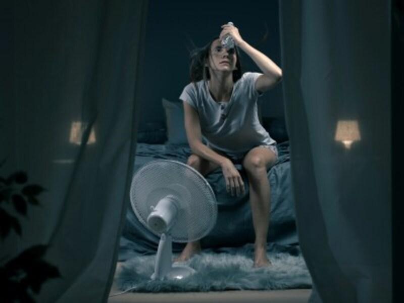 寝苦しい熱帯夜