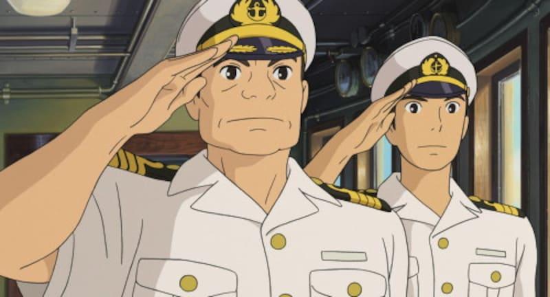 「航洋丸」船内のシーン(スタジオジブリ提供)