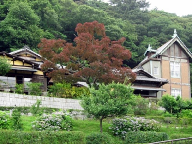 「コクリコ荘」と同じ和洋折衷住宅の旧柳下邸