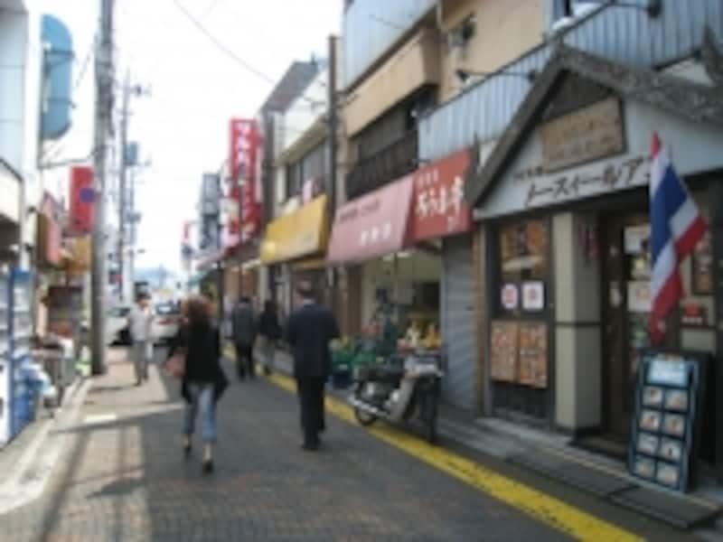 田無駅南口側