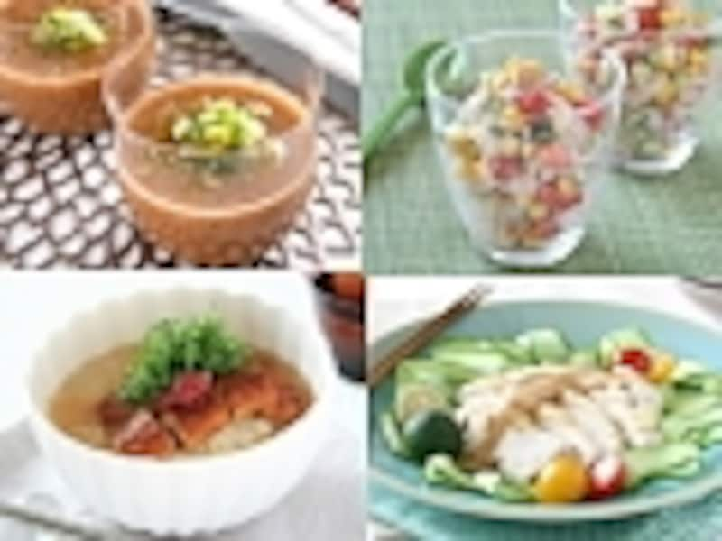 食べて涼しくなるレシピ・ベスト5