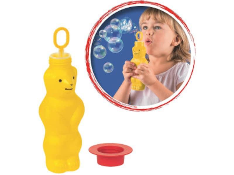 水遊びおもちゃシャボン玉 クマ形のシャボンはプステフイック社を代表する商品