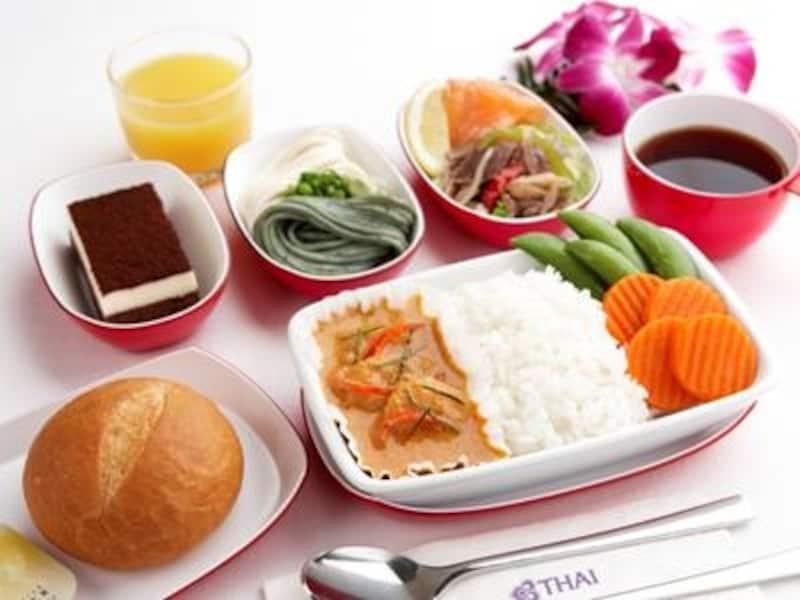 タイカレーundefined機内食