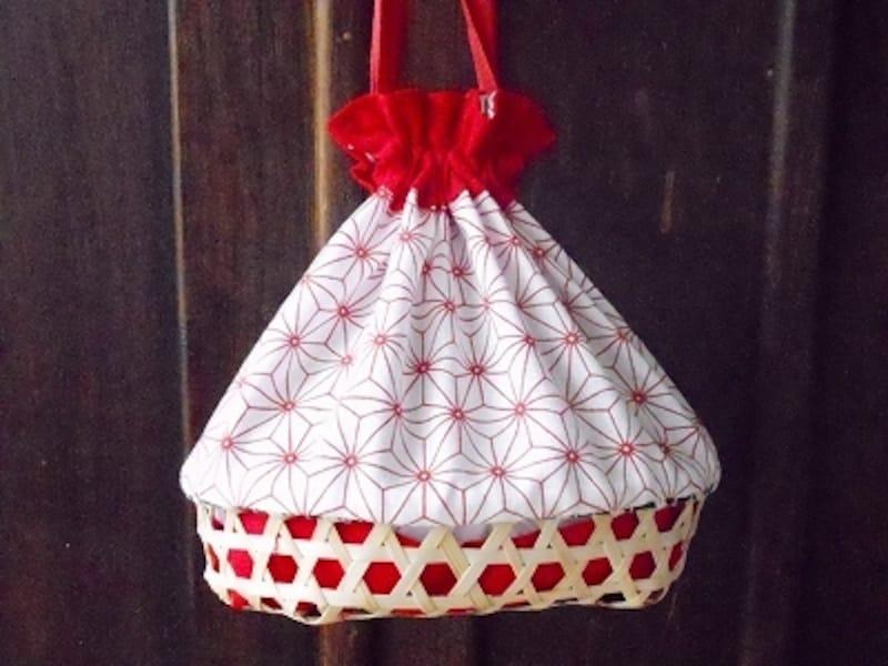 浴衣に似合う巾着式かごバッグの作り方!身近な素材で作る和の小物