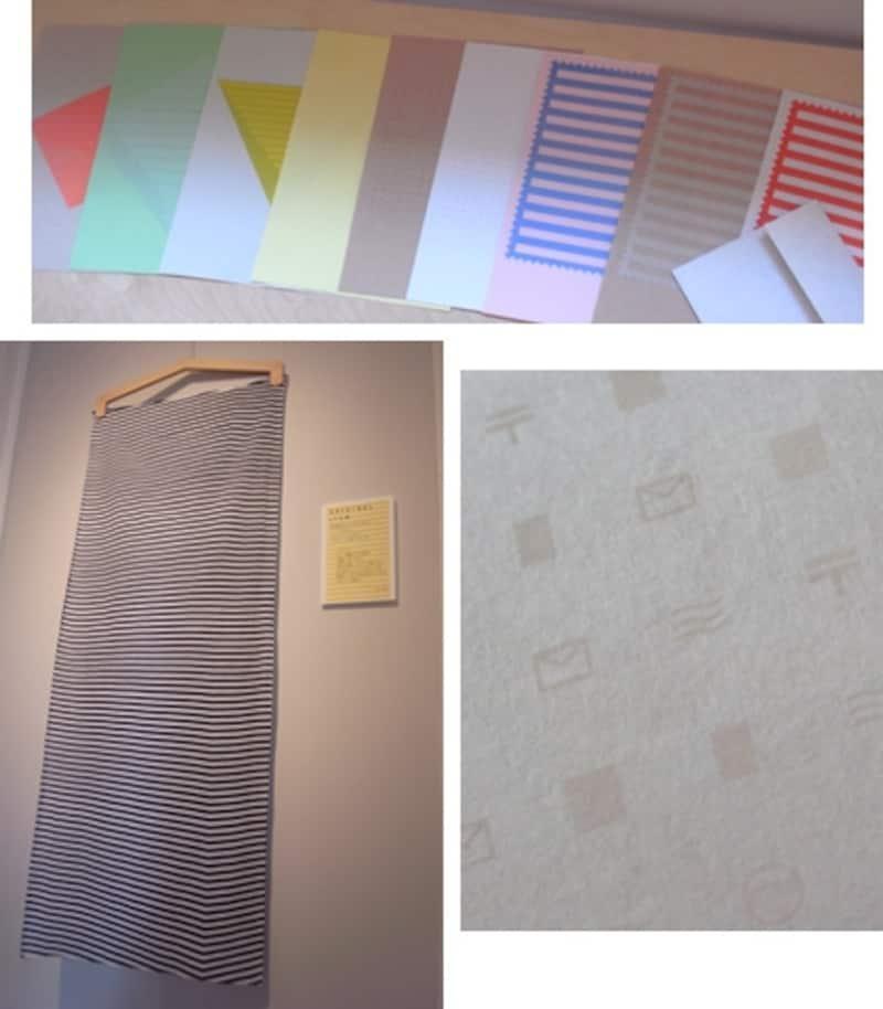 オリジナルグッズ2品。右下は封筒を拡大した様子