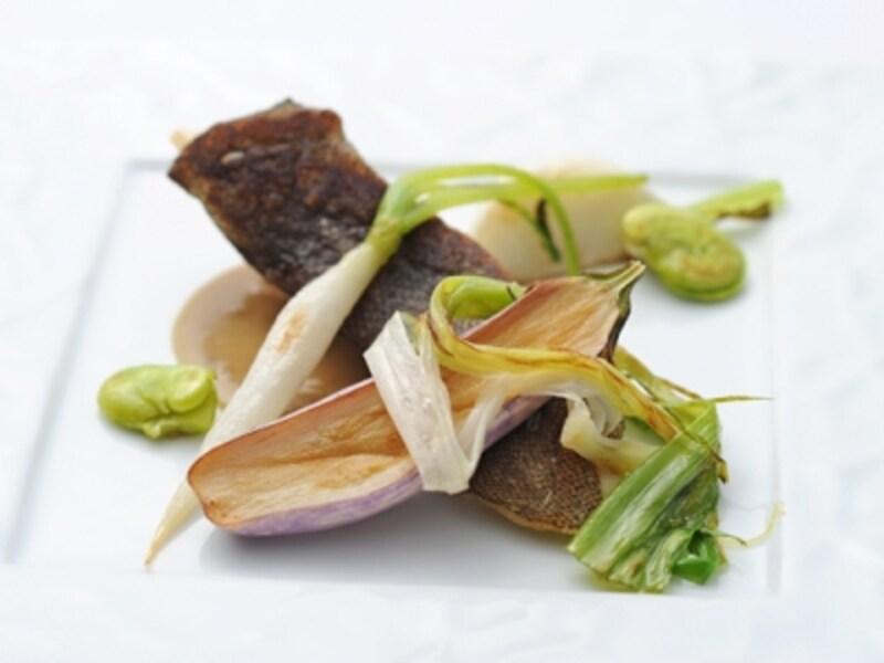【魚料理】白身魚のポワレ