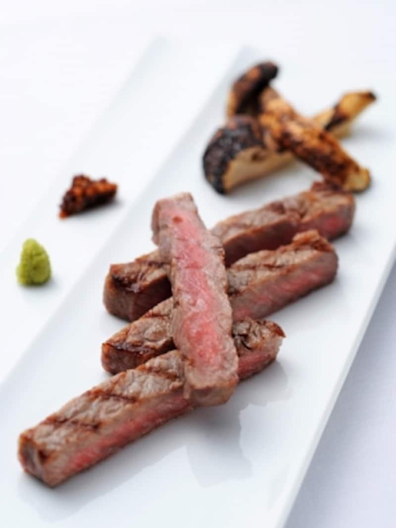 【肉料理】和牛フィレ肉のグリエお好みスタイル