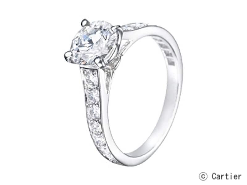 ソリテール1895/リング、プラチナ、ブリリアントカットダイヤモンド(0.3ct~)undefined47万1450円~