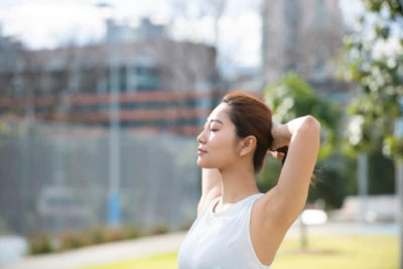 痩せ体質になるには呼吸を変えることが大事