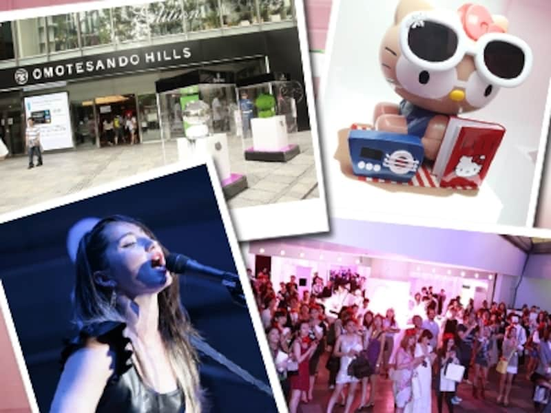 a330f659a2884 「SWAROVSKI(スワロフスキー)」と「Hello Kitty(ハローキティ)」とのコラボレーションジュエリーの発売記念パーティでは、KT  Tunstallさんによるライブ ...