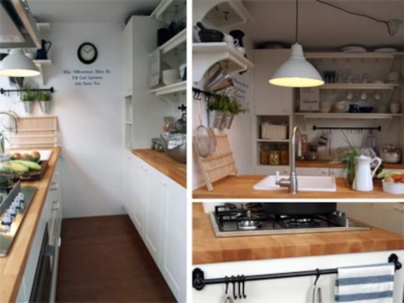 IKEAのキッチン収納