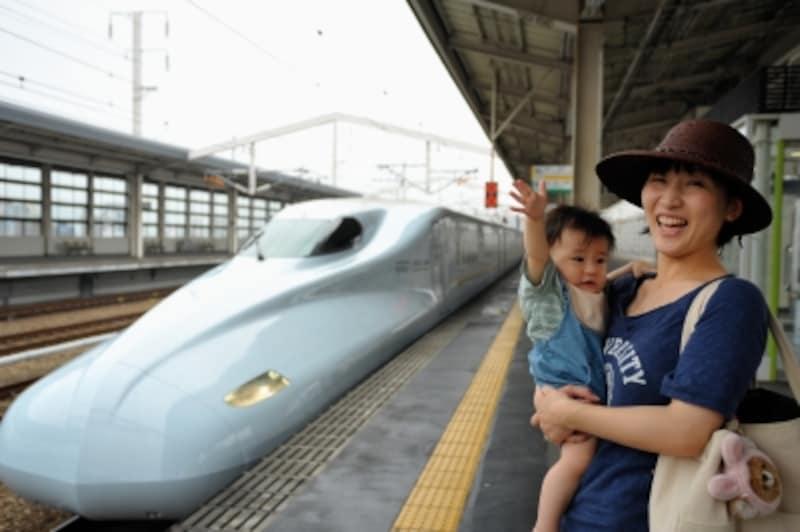 赤ちゃん連れの新幹線乗車を成功させるには?