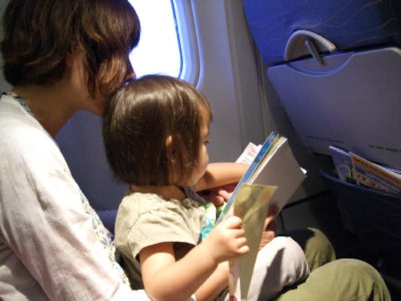 飛行機のぐずり対策