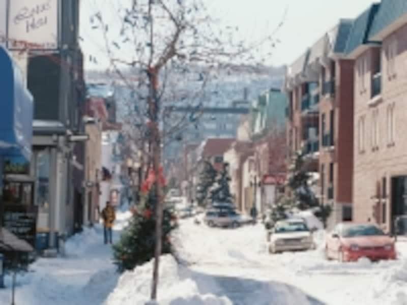 カナダの都市部としては比較的降雪量も多いundefined(C)TourismQuebec