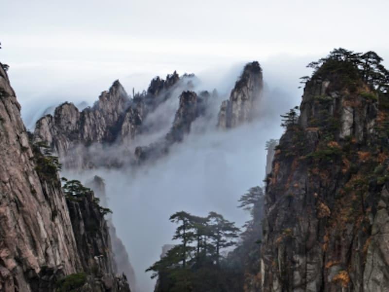 黄山四絶、雲海