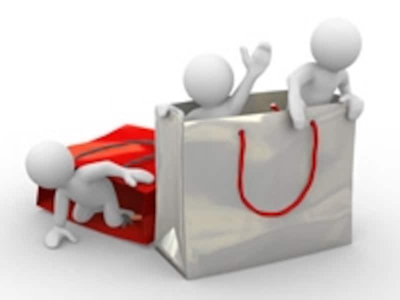 有名な商品を安く販売できる場合は、ショッピングモールに出店するのがオススメです