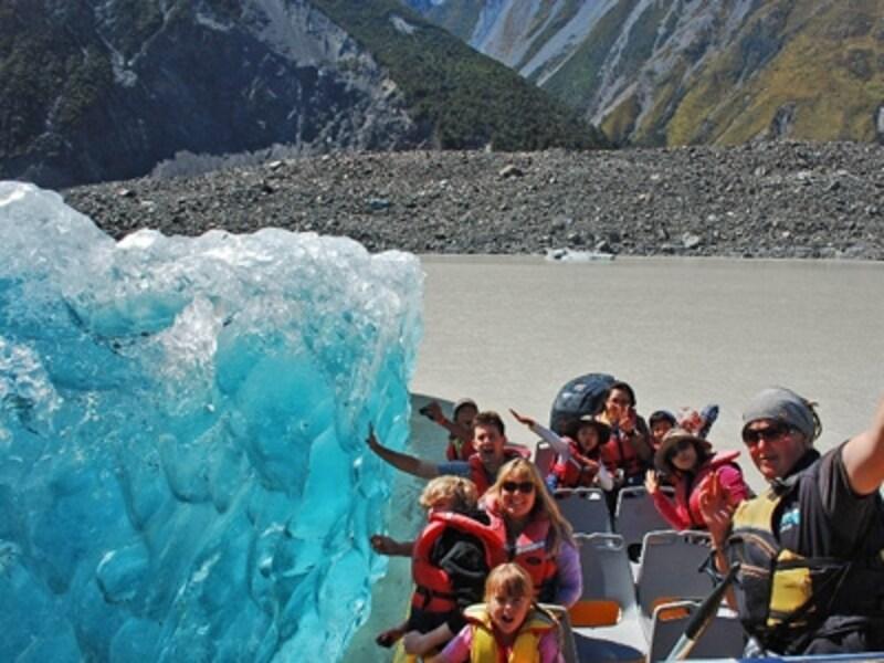 氷山にこんなに近づける!