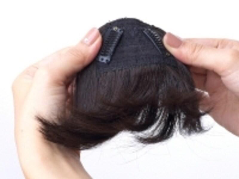前髪ステップ1