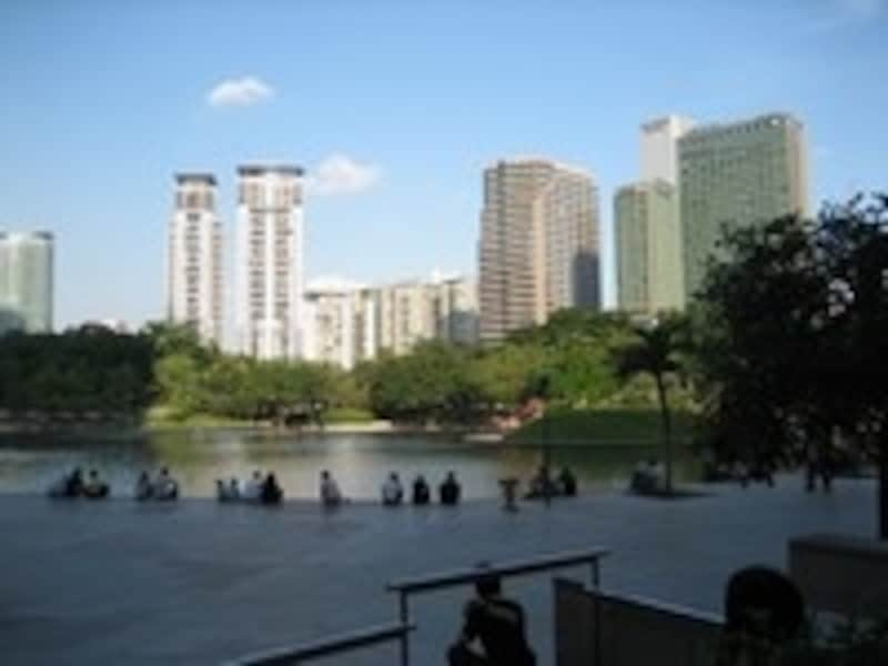 KLCCの公園