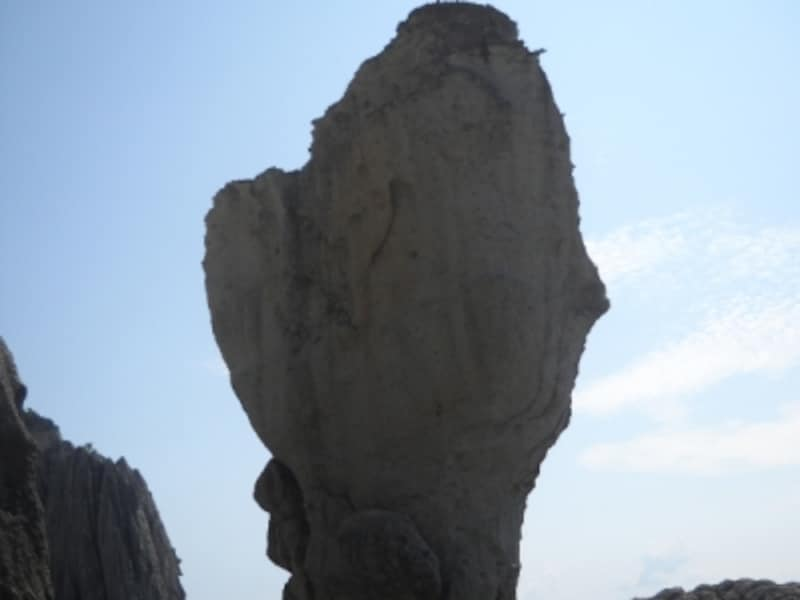 仏ヶ浦如来の首