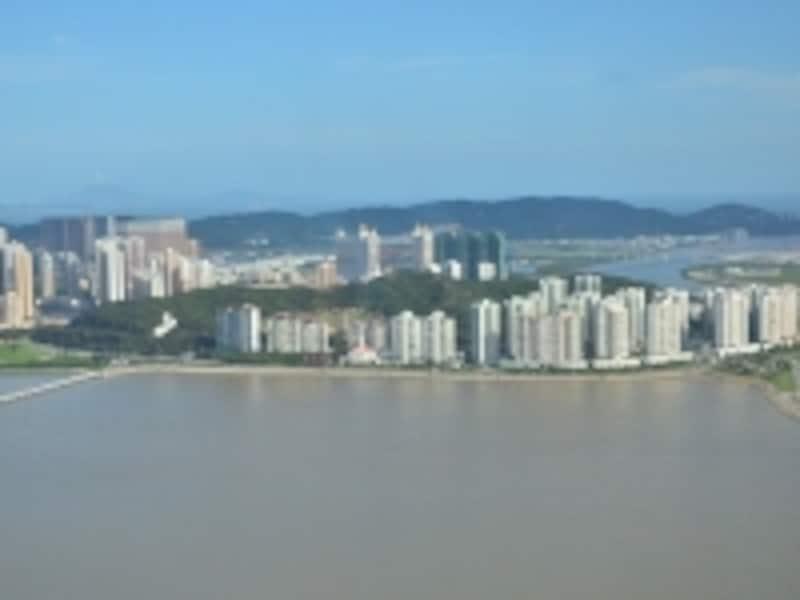 61階展望台からの風景
