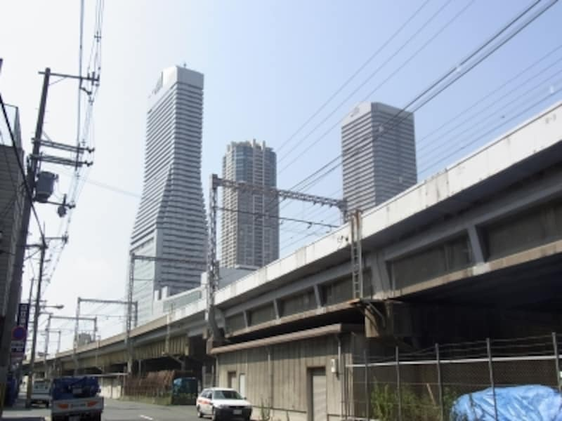 大阪環状線弁天町駅