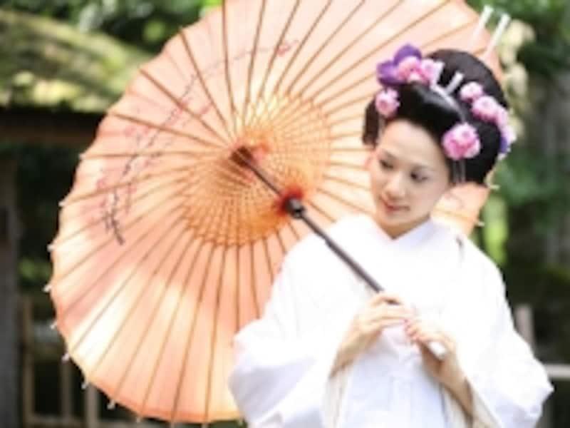 地髪undefined日本髪