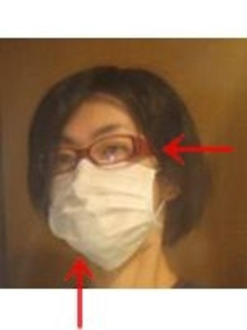 マスクメガネ
