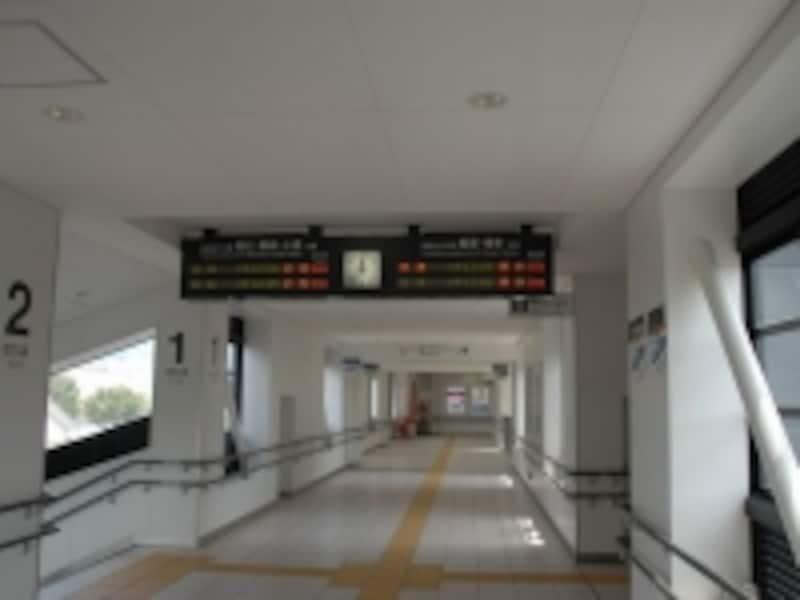 直方駅内部