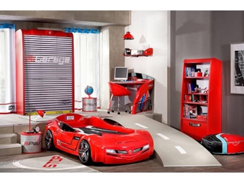 まるでピットガレージのような部屋も実現できる!