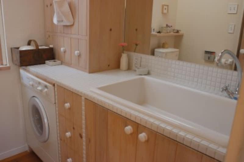 洗面台はカビが生えやすい