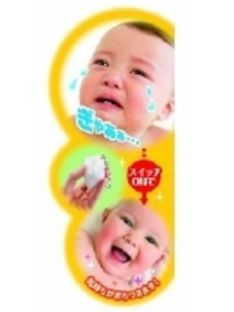科学的にも認められたホワイトノイズが赤ちゃんの気分を切り替えます