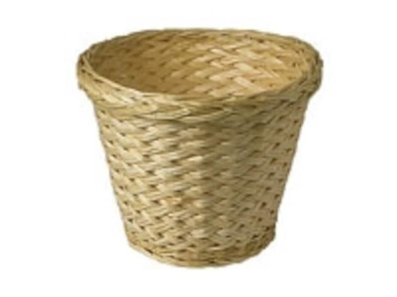 自然素材の鉢カバー
