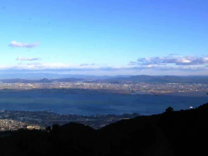 琵琶湖全景