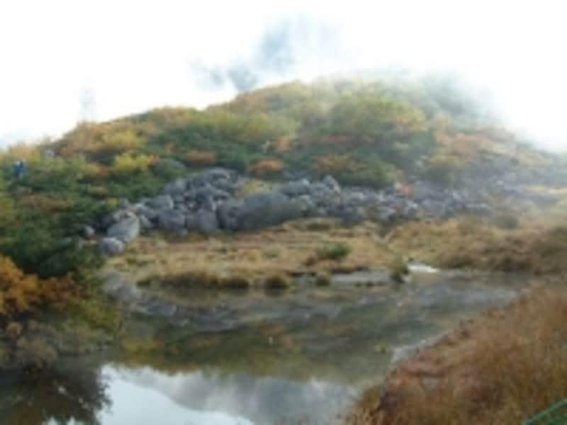 千畳敷カールの紅葉・黄葉(3)/剣ヶ池