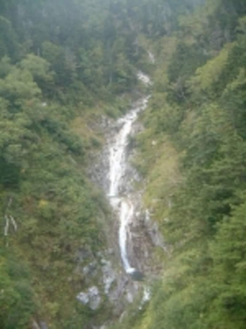 駒ヶ岳ロープウェイからの眺め/三段の滝