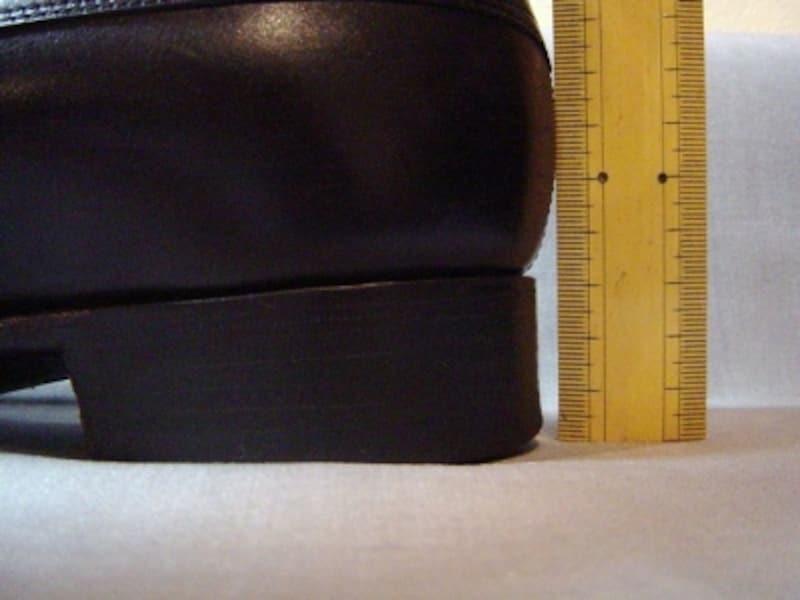 紳士靴のヒールの高さ、最近の流行?