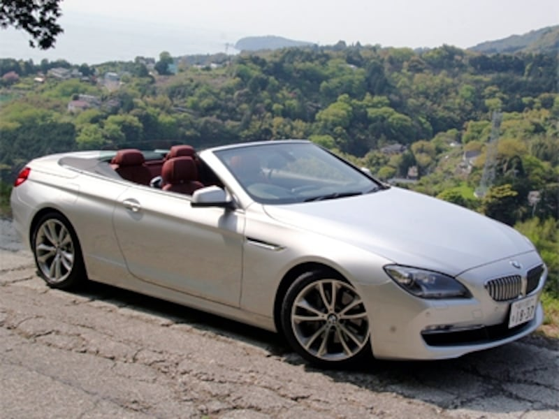 BMW650iカブリオレフロント