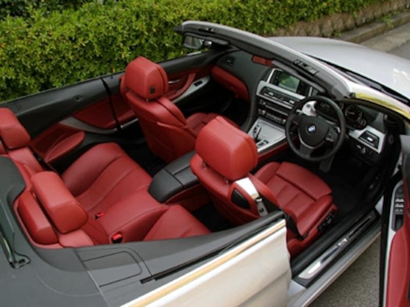 BMW650iカブリオレインテリア